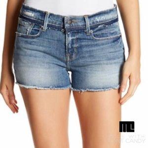 FRAME Denim cutoff shorts